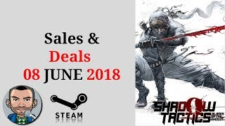 Steam Sales and Deals 08th June | Low Budget Gaming