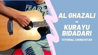 Tutorial Gitar : KURAYU BIDADARI - AL GHAZALI #Chord Asli   Eddy Supriadi