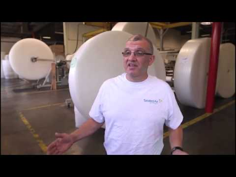 How Bubble Wrap Is Made by Sealed Air in the USA - Protective Packaging