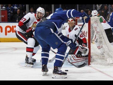 Ottawa Senators vs Toronto Maple Leafs - January 10, 2018 | Game Highlights | NHL 2017/18
