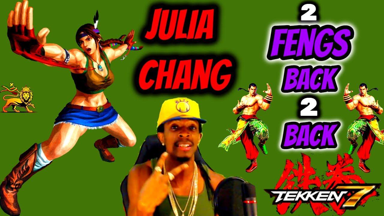 I HATE PLAYING AGAINST FENG! JULIA CHANG ROAD TO TGO VOL.21   FENG VS JULIA TEKKEN 7