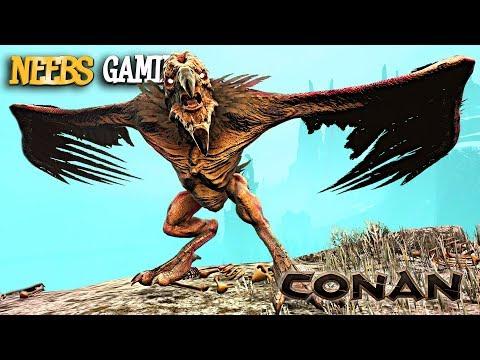 Conan Exiles - GARGOYLE GANG?!