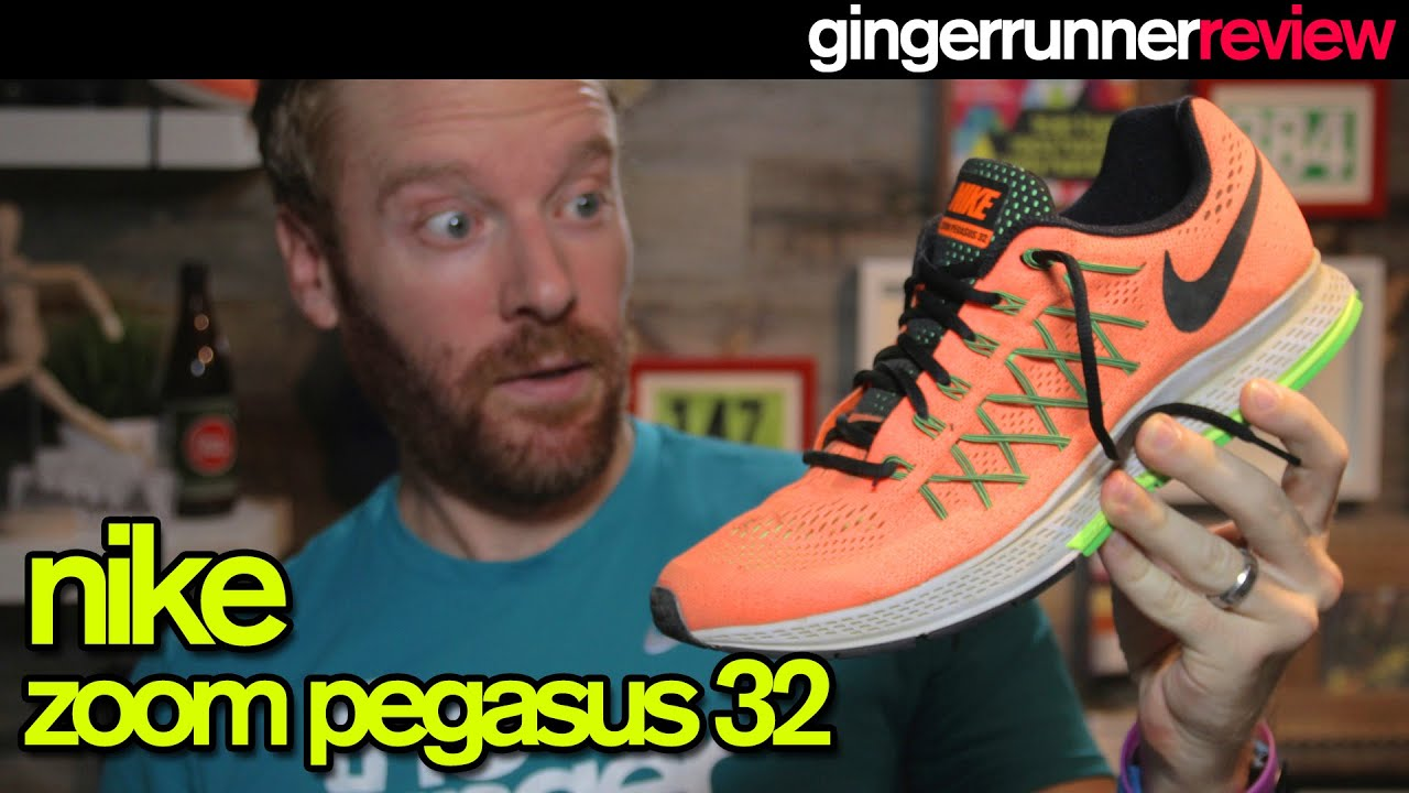 hot sale online fb1d2 56f01 NIKE ZOOM PEGASUS 32 REVIEW | The Ginger Runner - YouTube