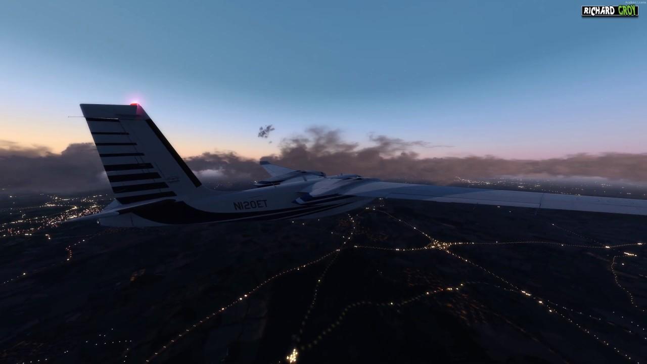 PEQUEÑA PRUEBA SIN ORBX ENG - FlightSim Planet