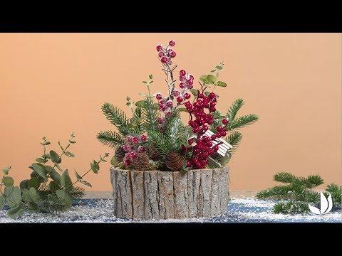 DIY Noël : composition décorative - Jardinerie Truffaut TV