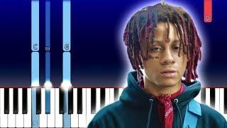 Trippie Redd - Death ft DaBaby (Piano Tutorial)
