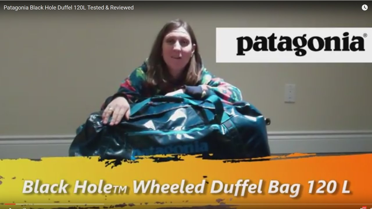 2c5bffedab37 Patagonia Black Hole Wheeled Duffel 120L Tested   Reviewed - YouTube