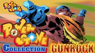 Power Stone Collection PSP Playthrough - POWER STONE 1 STORY MODE with GUNROCK