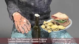 Tony Natsoulas Ceramic Sculpture
