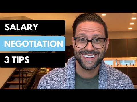 How To Negotiate Salary - 3 Tips!