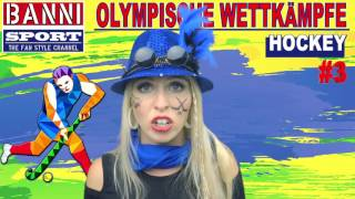 FACEBOOK Trailer Hockey - Olympic Wettkampf - Banni Sport Fan Style & Make-up
