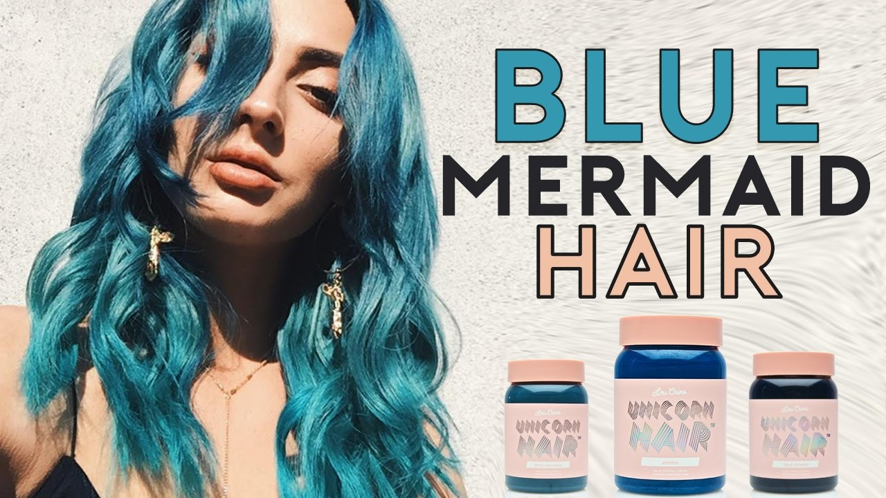 Mermaid Ombr 233 Hair With New Lime Crime Unicorn Hair Dye