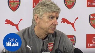Arsene Wenger has downplayed rumours that he'll leave Arsenal - Daily Mail