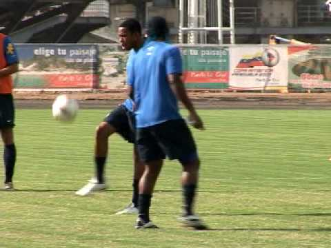 Robinho - training for Brazil