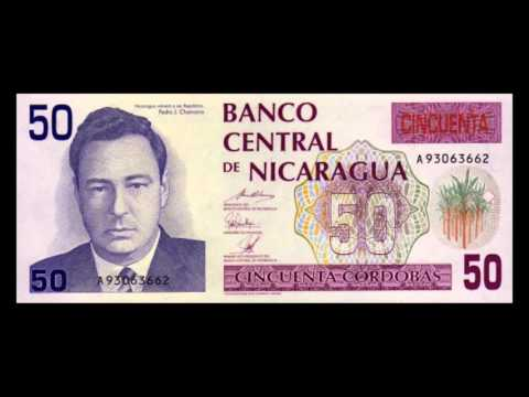 All Nicaraguan Cordoba Banknotes - 1990 To 1991 Issues
