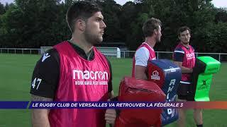 Yvelines | Le Rugby club de Versailles va retrouver la Fédérale 3