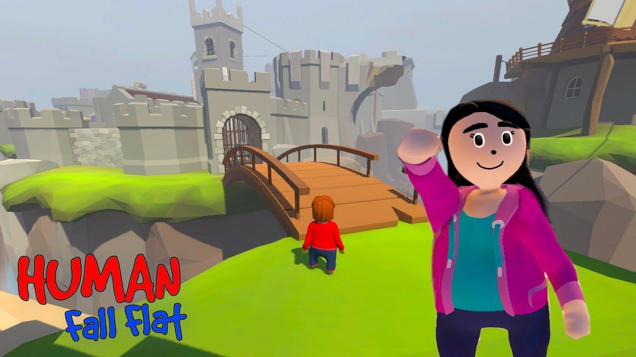 ENTRAMOS NO CASTELO DAS MASSINHAS (Human Fall Flat) | Luluca Games