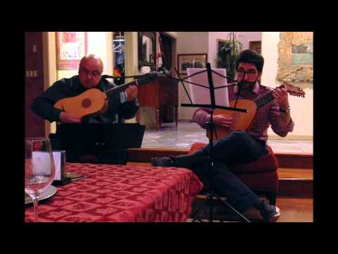 Anonymous Duet on Greensleeves for Vihuela and Renaissance Lute