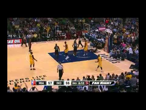 NBA CIRCLE - Miami Heat Vs Indiana Pacers Highlights 10 Dec. 2013 www.nbacircle.com