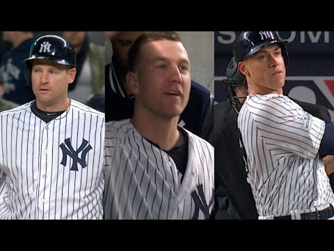 ALCS Gm3: Yankees erupt for five runs in the 4th