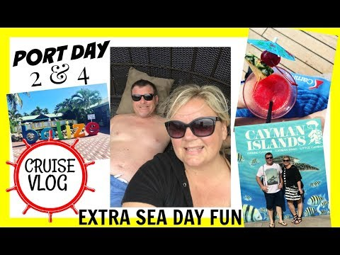 Our First Cruise ~ Port Day ~ Belize & Grand Cayman ~ Leaving Port Without Brian