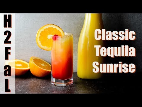 Killer-Good Cocktails | CLASSIC TEQUILA SUNRISE | How To Feed A Loon