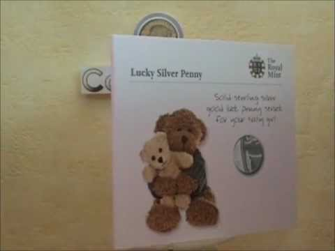 2012 Lucky Silver Penny Baby Gift by Royal Mint