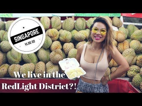 Singapore Vlog 02: Jade booked our Airbnb in the redlight district of Geylang!