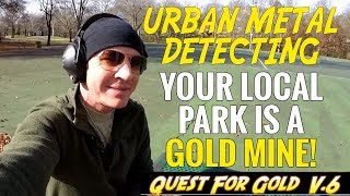 Urban Metal Detecting: Your Local City Parks Are Gold Mines!