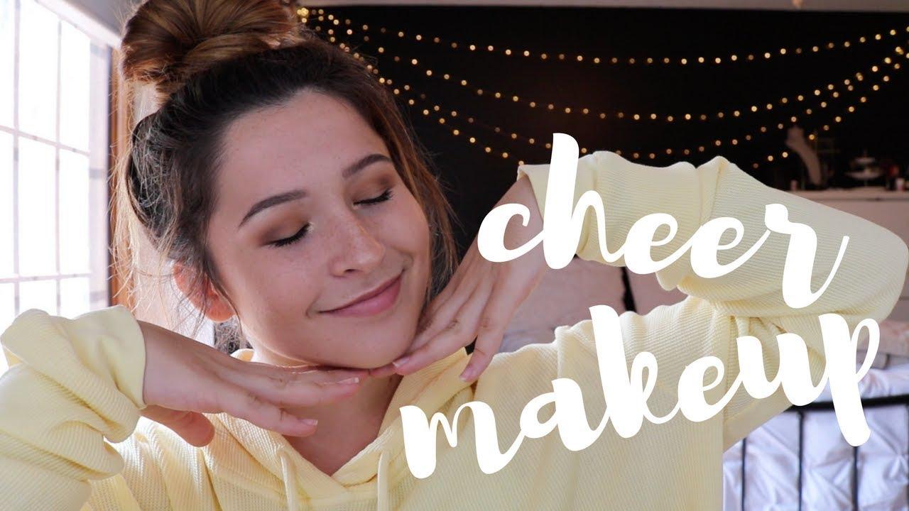 Cheer makeup tutorial youtube cheer makeup tutorial baditri Image collections
