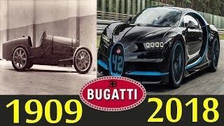 Evolution Of The Bugatti 1909 To 2018