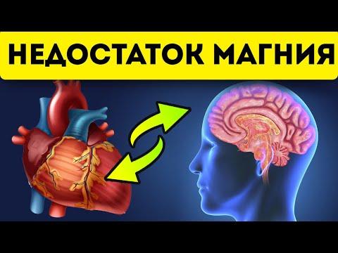 Признаки нехватки магния! Лечение магнием мозга, мышц, костей, сердца, почек и печени!