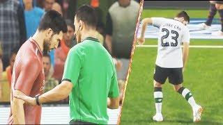 PES 2019 | Referee Motion || Horrible Tackles | Cards