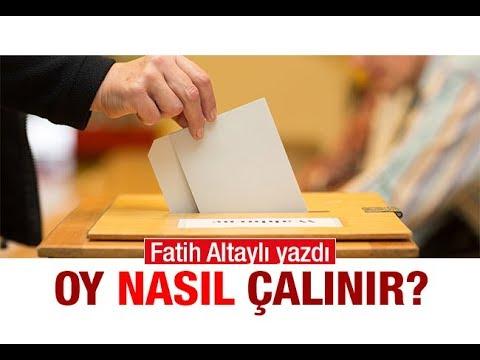 Seçimlerde oy nasıl çalınır ? Fatih Altaylı yazdı