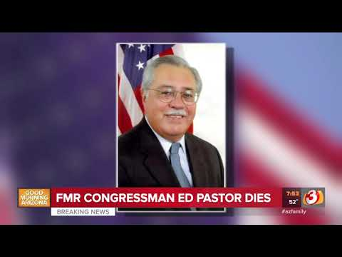 VIDEO: Former Arizona Congressman Ed Pastor dead at 75