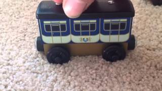 King Of The Railway Stephen's Castle Coaches New 2013 Thomas Wooden Railway Review