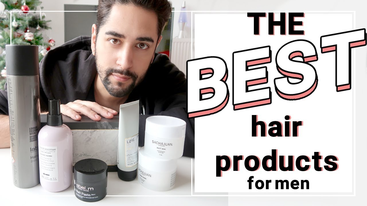 The Best Hair Products For Men November 2017
