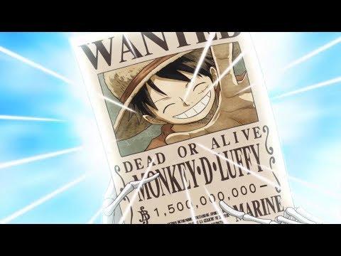 Луффи стал Йонко. Награда за Луффи. Ван Пис / One Piece