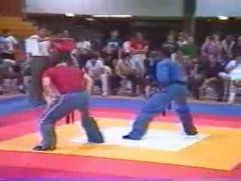 Larry Kelley knocking out Tae Bo