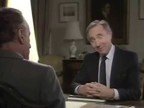 Sir Humphrey is suspected to be a Russian spy   Yes Prime Minister