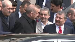 Cumhurbaşkanı Erdoğan, Cuma Namazını Başyazıoğlu Camii'nde Kıldı