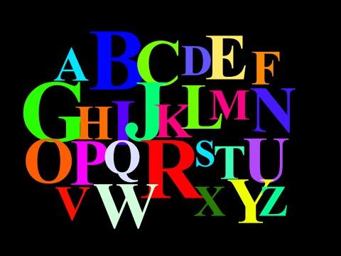 alphabet of color