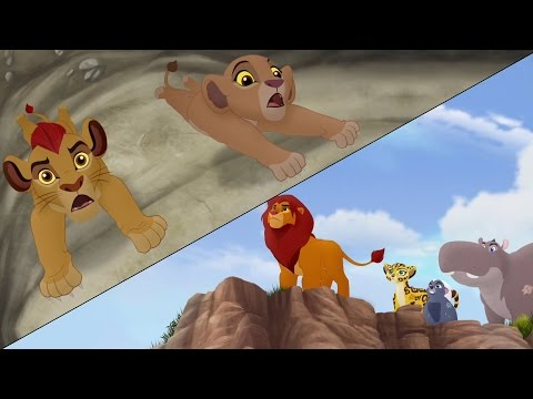 Lion Guard: Searching For Udugu + Simba Leads The Guard! | The Trail To Udugu HD Clip