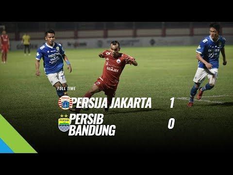 [Pekan Tunda] Cuplikan Pertandingan Persija Jakarta Vs Persib Bandung, 30 Juni 2018
