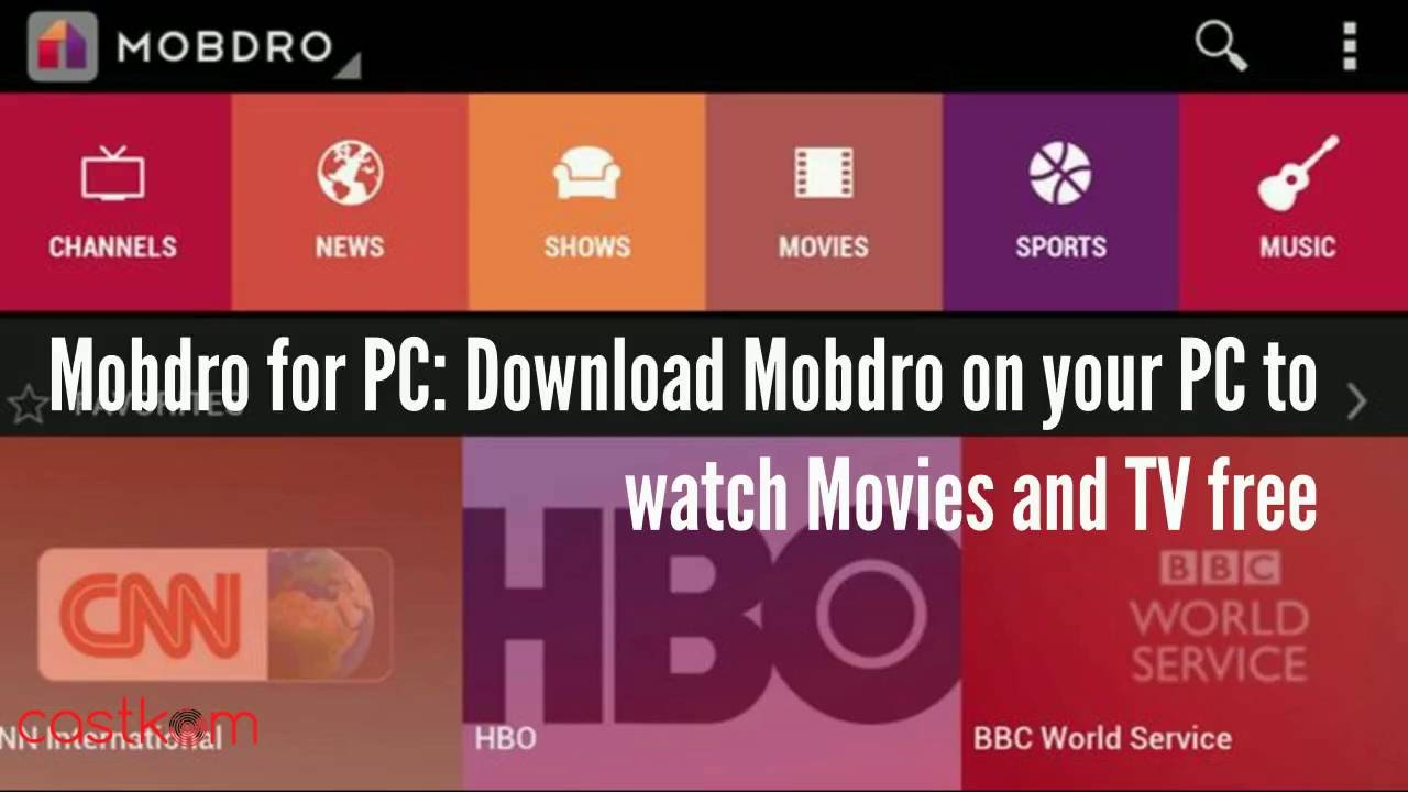 Free download mobdro online tv