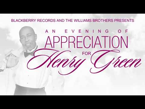An Evening of Appreciation for Mr. Henry Green