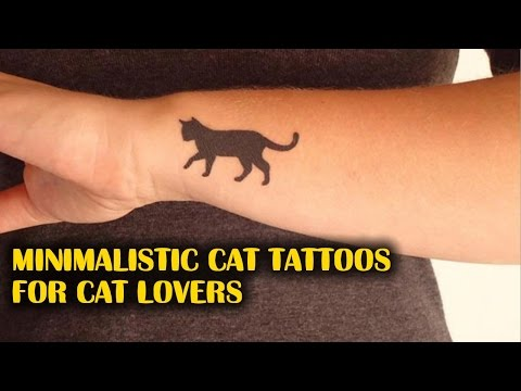 Minimalistic Cat Tattoos For Cat Lovers | TATTOO WORLD