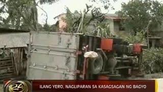 24 Oras: Quezon, pinaka-napuruhan ng Bagyong Glenda ayon sa NDRRMC