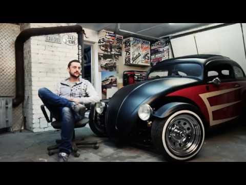 VW 1200 Garbus 65' Volksrod Hot Rod Custom - Dropped TV