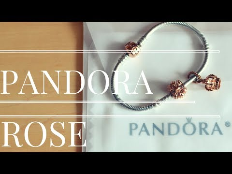 Clean your  PANDORA ROSE charm Bracelet Jewelry